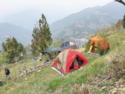 230露營場 蓋在地質敏感區