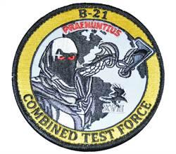 美國B-21隱密轟炸機 臂章已在ebay拍賣