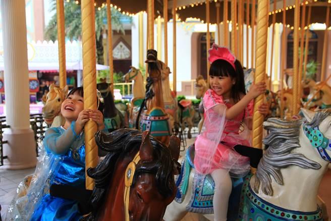 六福村主題樂園今年兒童節長假,推出「12歲以下兒童免費入園」方案!(圖/業者)