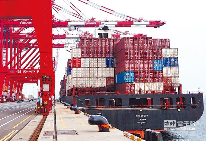 韓國3月出口年增6.1%至516億美元,低於市場預期。圖/路透