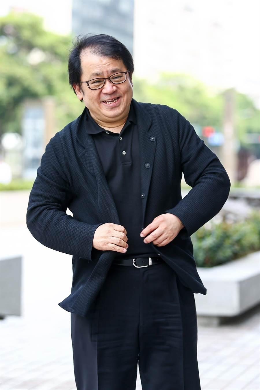 國家表演藝術中心董事長朱宗慶表示,國表藝未來願景就是希望持續推動中介機構的核心價值,落實藝術專業治理精神。(鄧博任攝)