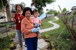 中台社區自力打造綠園道 歡喜啟用