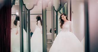謝沛恩披絕美婚紗 未來婚禮要這樣