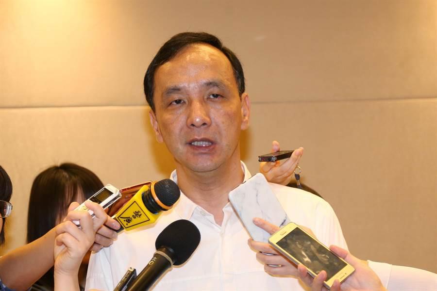 前新北市長朱立倫。(中時資料照,吳岳修攝)
