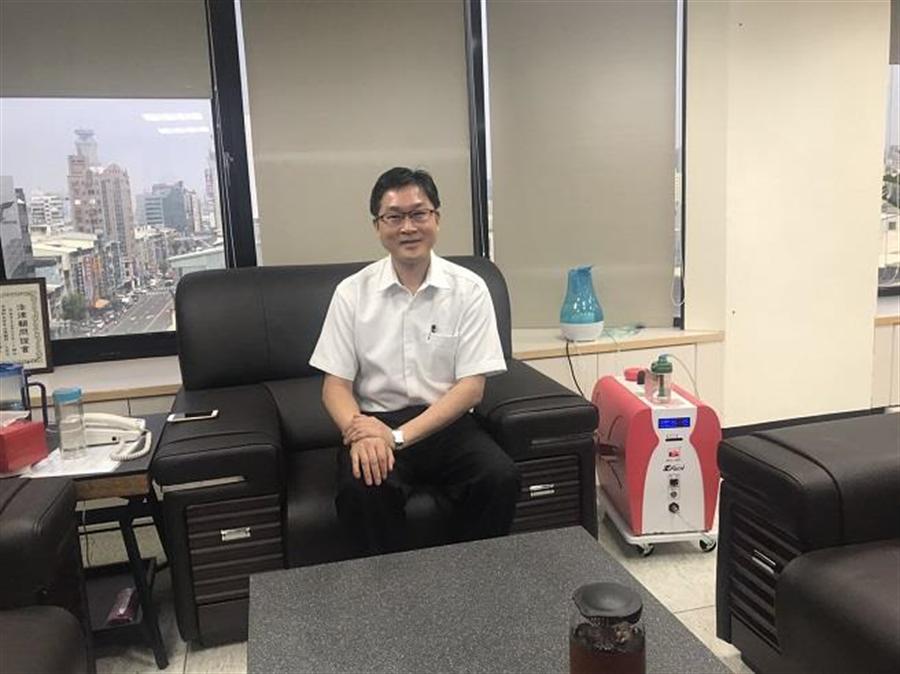 友荃科技董事長林文章推氫氧保健,氫美氧生機漸獲得肯定。(友荃提供)