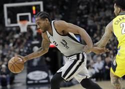 NBA》里歐納德確定報銷 馬刺季後賽陷困境