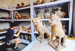 中國墓葬藝術 展現生死觀及信仰