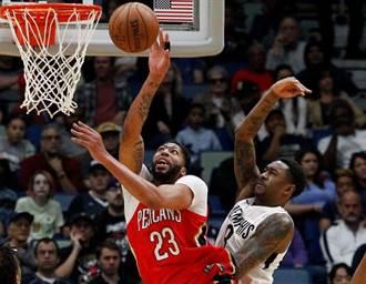 NBA》受傷還要上!一眉哥領鵜鶘穩住西區第8