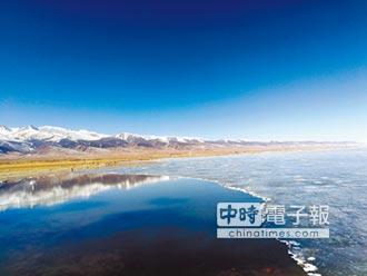 青海湖融冰開湖 今年仍屬文開