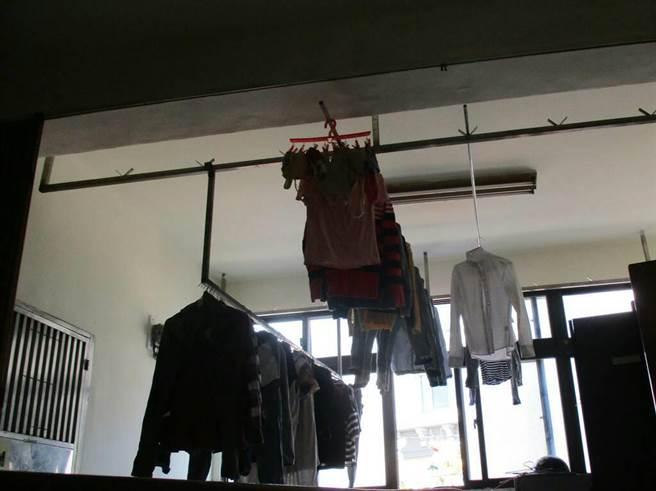 林男溜進女宿翻衣物,被逮竟說想看女移工的內在美。(蔡依珍翻攝)