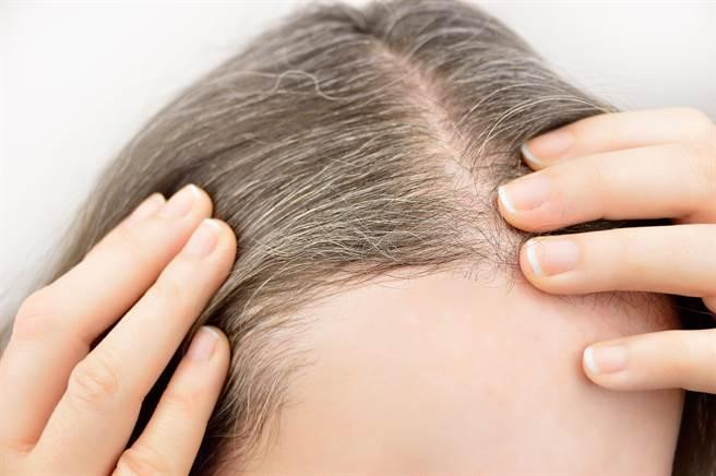 專家提出人類頭髮本來就是白色的。(圖/shutterstock)
