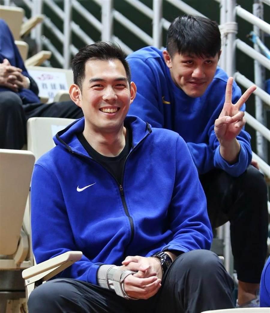 裕隆當家射手呂政儒的右手腕恢復情況好壞,將是裕隆能否連兩年闖進冠軍賽的關鍵之一。(中華籃協提供)
