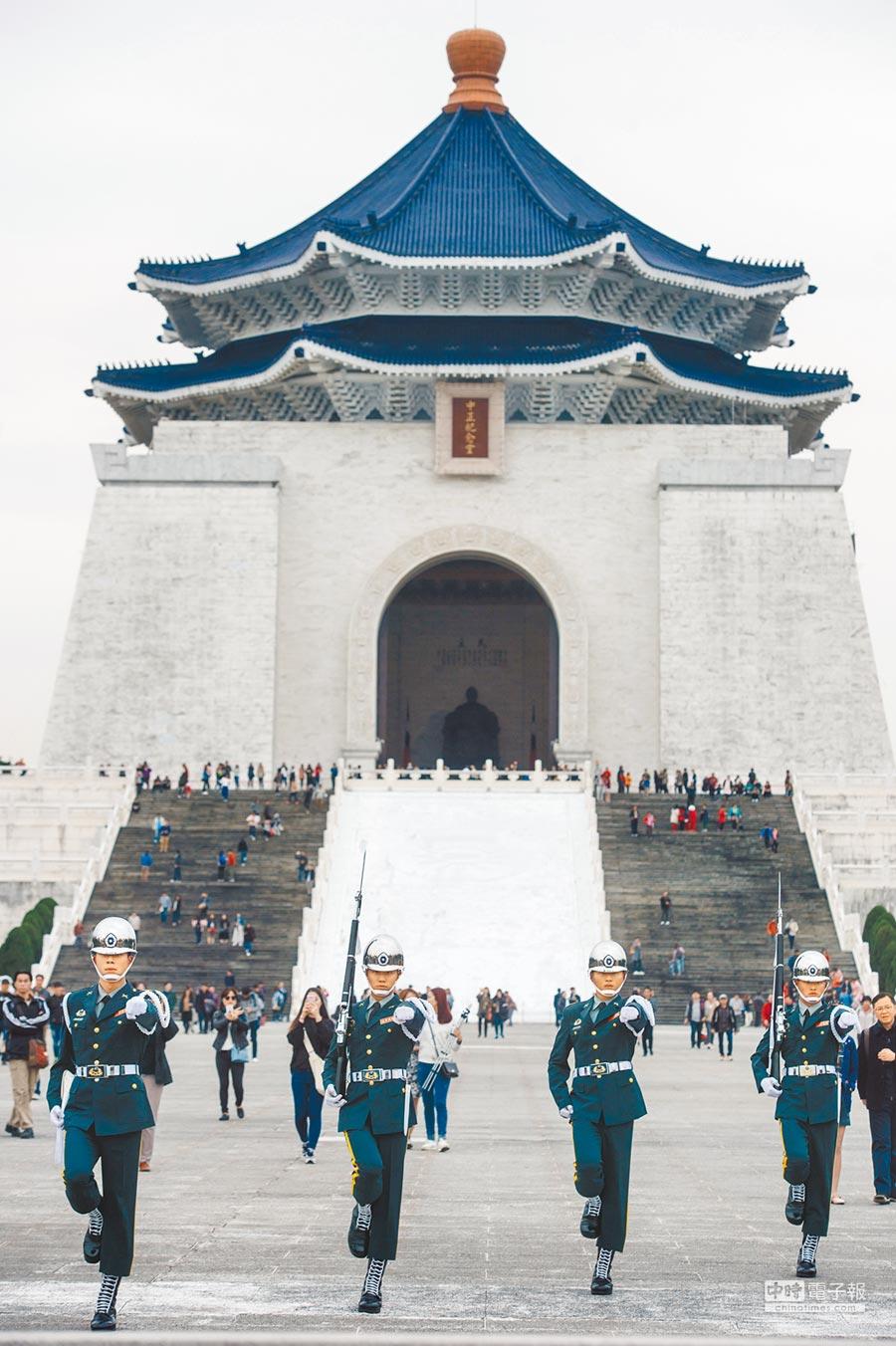 文化部正處理中正紀念堂轉型,未來有可能改為歷任總統文物館。(本報資料照片)