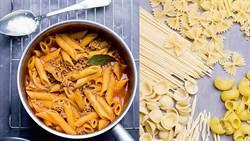 懶人福音!一只鍋子就能做出義大利傳統「波隆那肉醬條紋管麵」