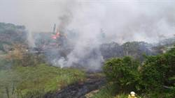 公墓餘燼引火 台南市4天通報近200起火警
