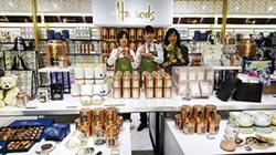 茶品牌 登上百貨精品樓層