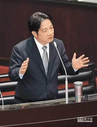 賴清德台獨論 新黨今二度赴高檢署告發內亂罪