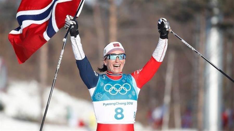 5屆冬奧奪得8金、15面獎牌的挪威滑雪傳奇名將比約根宣布退役。(美聯社)