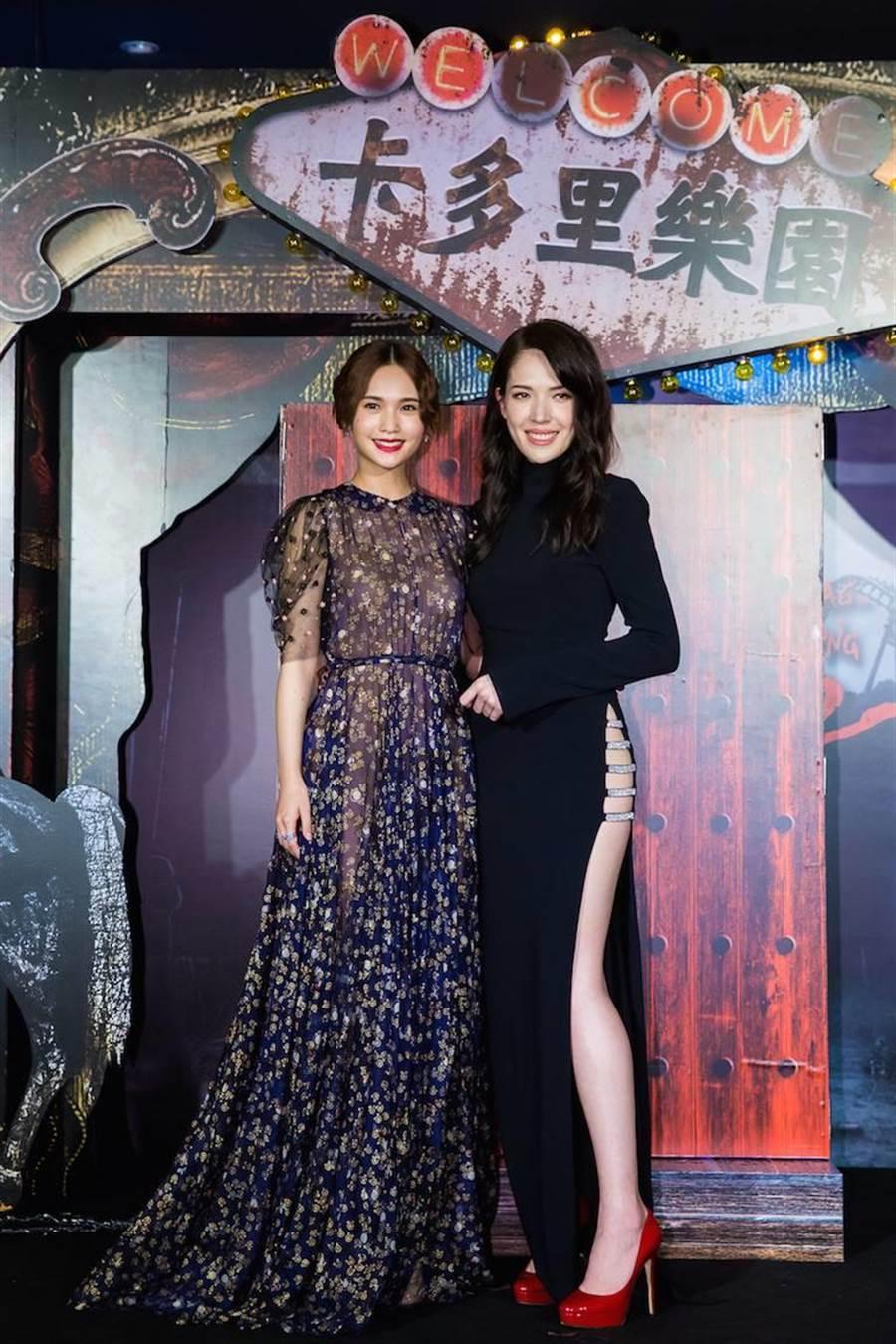 楊丞琳(左)和許瑋甯將回歸紅衣系列演出。(取自臉書)