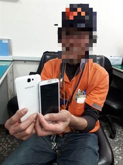 6旬翁每天逛圖書館 不看書偷手機被逮