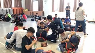 挑戰雲嘉七連峰 北台南家扶青少年模擬訓練