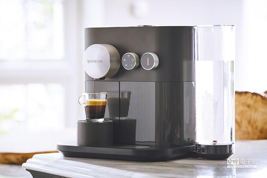 Nespresso Expert全新咖啡機新推出美式咖啡選項,9800元。(Nespresso提供)