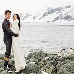 Janet有了她 南極雪地也能幸福站穩穩