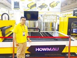 皓茂雷射切割機整合自動化料塔 大幅提升客戶生產效能
