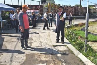 南投縣長林明溱會勘野溪整治和道路改善工程 允諾即行改善