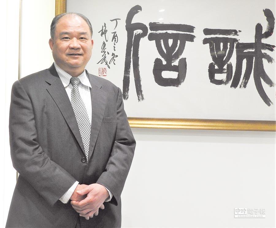 世紀鋼構董事長賴文祥。圖/黃全興
