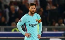 梅西沒轍 巴薩3球兵敗羅馬 無緣歐冠4強