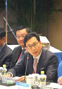 蔡明忠:盼設「綠色通道」優先開放台資金融機構