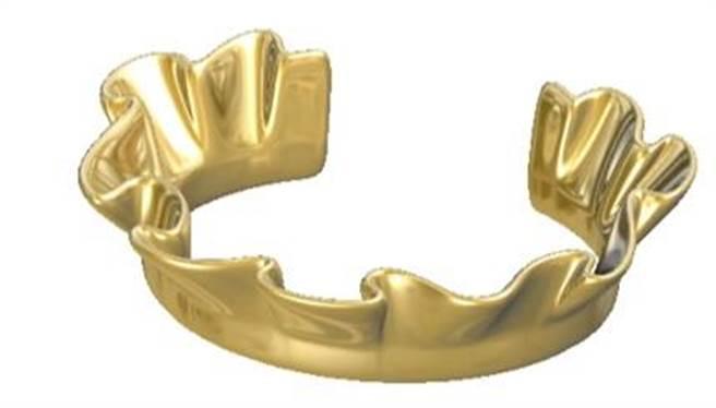 J. HARDYMENT Single Ruffle手環,1萬800元。(Snob提供)