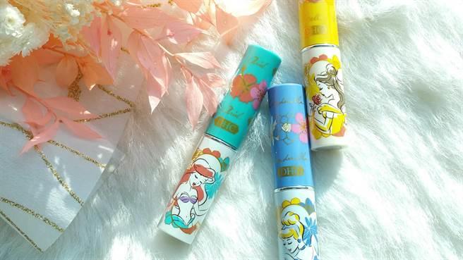 DHC推出迪士尼公主系列純欖護唇膏限定版,全新三款:小美人魚、仙杜瑞拉、美女與野獸
