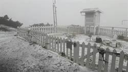 午後對流旺盛降大雷雨 玉山、日月潭下冰雹