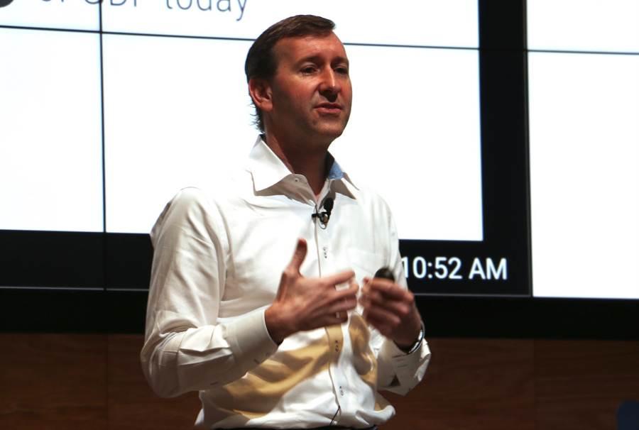 Google 亞太區行銷解決方案董事總經理 Kevin O'Kane 。(圖/黃慧雯攝)