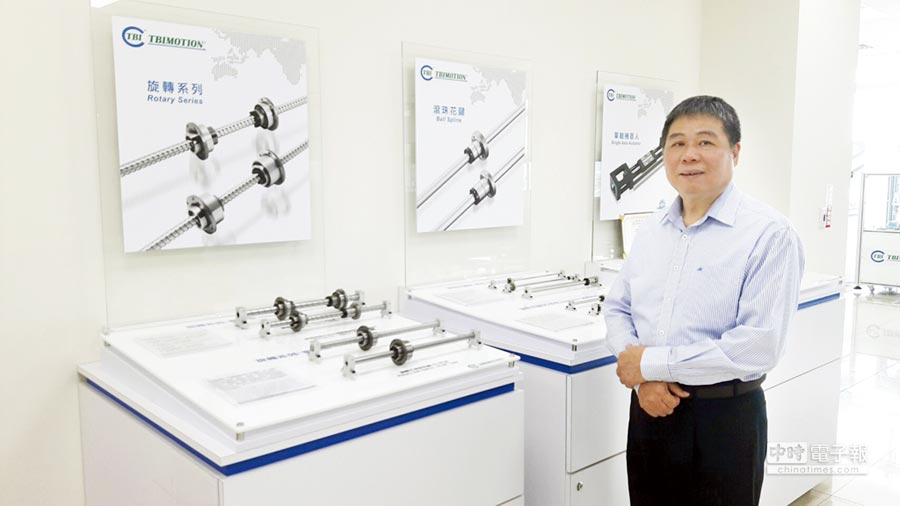 全球傳動科技總經理李進勝。圖/謝易晏