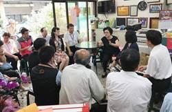 中市10局處首長訪議員邱素貞 傾聽基層需求
