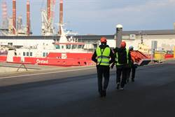 圖輯》丹麥離岸風電系列:海中堡壘 離岸風電海上平台