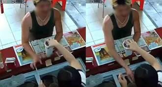 買飲料伸狼爪!男子趁亂襲胸女店員 辯稱「開玩笑」?