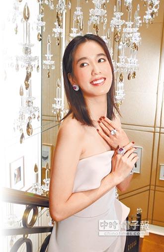 陳庭妮 喜戴1.8億卡地亞