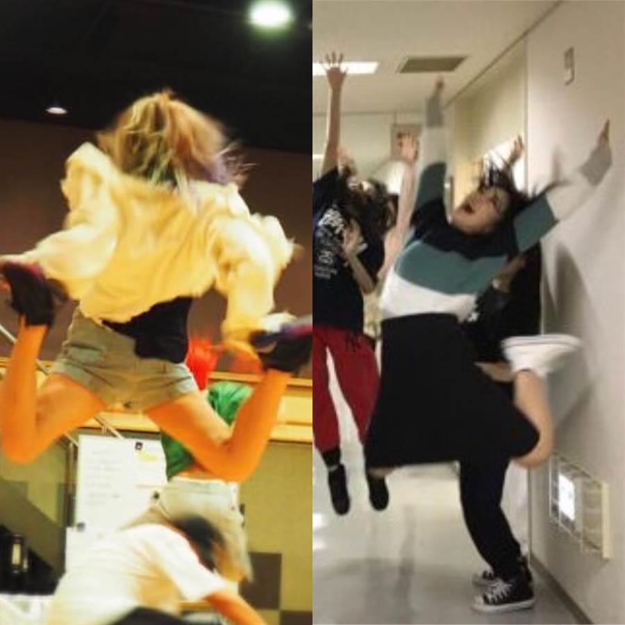 倖田來未(左)與ANGERME宣告要在演唱會展現驚人跳躍力。(取材自IG、推特)