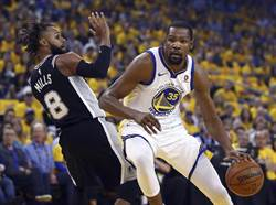 NBA》勇士變陣重振雄風 痛宰馬刺摘季後賽首勝