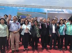 綠色能源崛起  中鋼進駐高雄興達港設置離岸風電廠房