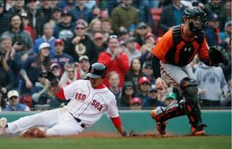 MLB》林子偉連兩場敲2安 紅襪大勝金鶯