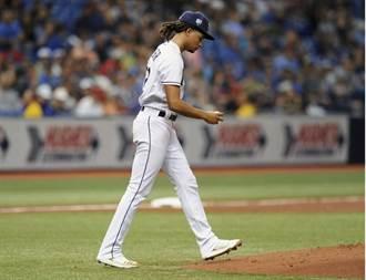 MLB》光芒王牌一局爆 送艾瑞耶塔轉隊首勝