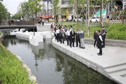 中市綠川上游整治完成 營建署:下游經費不會跳票