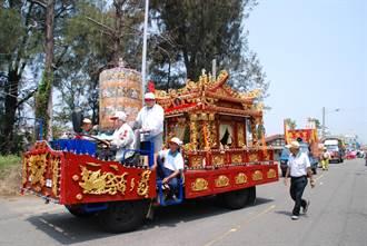 學甲慈濟宮上白礁祭典恢復古制 輦宮文化走入歷史