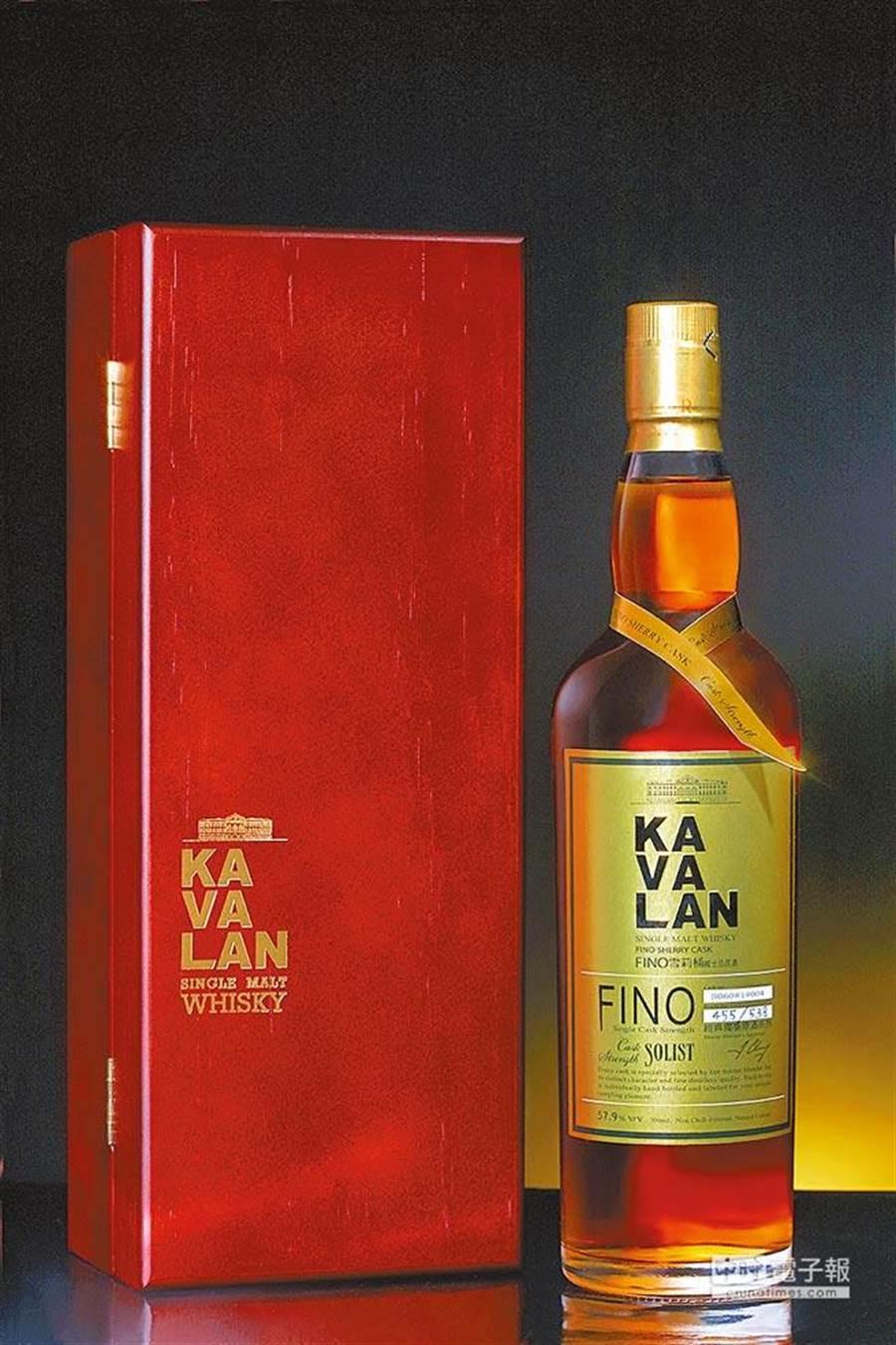 第14名「Kavalan噶瑪蘭威士忌」