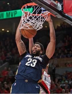 NBA》鵜鶘客場2連勝 拓荒者首輪恐爆冷出局